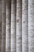 Row of marble columns of a temple — Stock fotografie