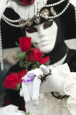 Carnival mask of Venice — Stock Photo