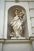 Justice statue — Stock Photo