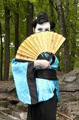 La geisha — Foto Stock