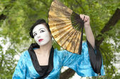 Geisha — Stockfoto