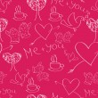 Royalty-Free Stock Vector Image: Seamles Saint Valentine\'s Day Pattern