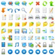 Application icons set - Image vectorielle