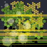 Honey background — Stock Vector #9220903