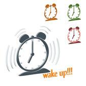 Despertarse — Vector de stock