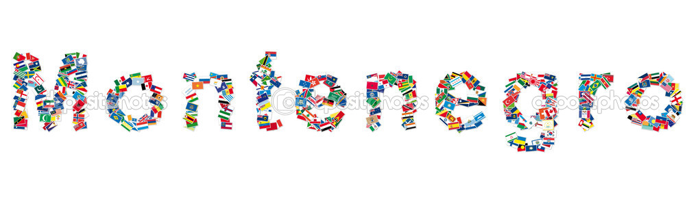 Flags from all countries and continents. — Stock Photo #8496478