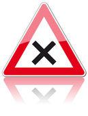 Znaki drogowe — Wektor stockowy