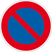 Traffic signs — Stock Vector