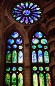 染色玻璃窗口 — 图库照片