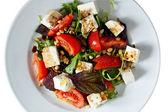 Fresh Greek salad — Stock Photo