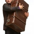 Guy with suitcase — Stock Photo #10641513