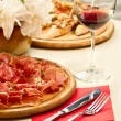 Food on table — Stockfoto