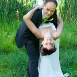 Tańcząca para — Zdjęcie stockowe