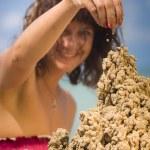 Sandcastle — Stock Photo