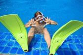 Snorkeling — Stockfoto
