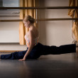Dancer exercise — Stock Photo