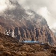 machhapuchhre base camp — Stock Photo