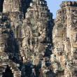 Faces of Angkor Thom — Stock Photo