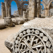 Syrina ruins of old castle not so far from Latakia — ストック写真