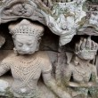 Carving at Angkor - Stock Photo