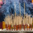 Joss sticks - Stock Photo