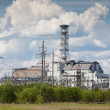 Chernobyl power plant — Stock Photo
