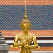 Sculptures of a Buddhist Temple - Stock Photo