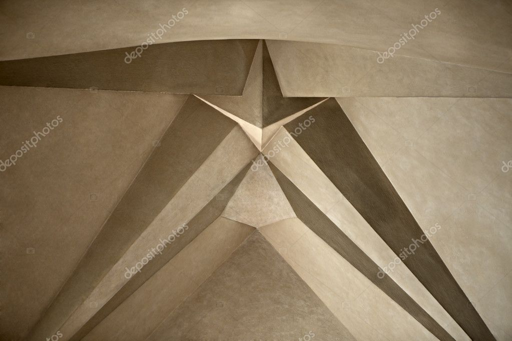 Gaudi's Sagrada Familia Cathedral in Barcelona. Ceiling in close — Stock Photo #8668359