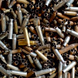 Many rusty bullets — Foto Stock