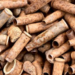 Royalty-Free Stock Photo: Many rusty bullets