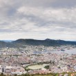 Panorama of Bergen — Stock Photo