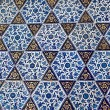 Turkish pattern wallpaper — Stock Photo