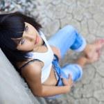 Blue-eyed girl — Stock Photo #9152991