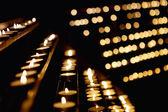 много свечей — Стоковое фото