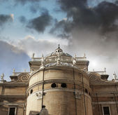 Cathedral of Parma exterior — Stock Photo