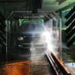 Photo of carwash and SUV - Stock Photo