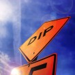 Photo of street sign — Stock Photo