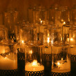 Candles in church - Foto de Stock