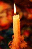 Candle lit — Stock Photo