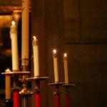 bougies à l'église — Photo