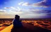 砂漠のシーン — ストック写真