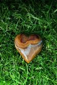 Srdce z kamene — Stock fotografie
