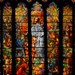 Stained Glass - Foto Stock