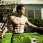Giovane atleta — Foto Stock
