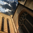 Church and sky — Stock Photo