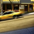 Taxi cab — Stock Photo #8471762
