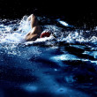 The Swimmer - Stock Photo