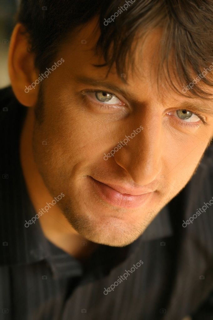 Close-up portrait of young  man — Stock Photo #8470684