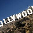 Hollywood podepsat — Stock fotografie