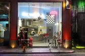 Diner scene — Stock Photo